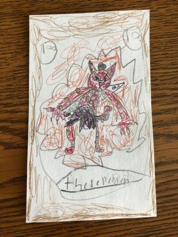 9岁萝莉设计炉石卡牌