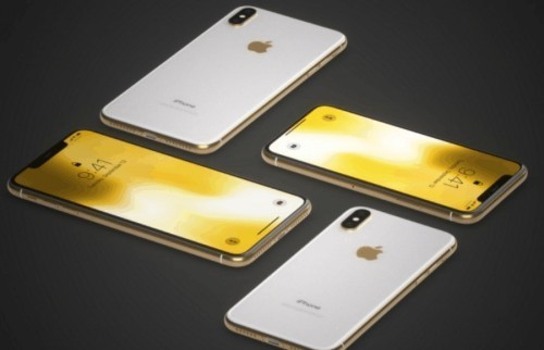 """""""液体黄金版""""iPhoneX现世 售价3万 造型酷似被拧过的易拉罐"""