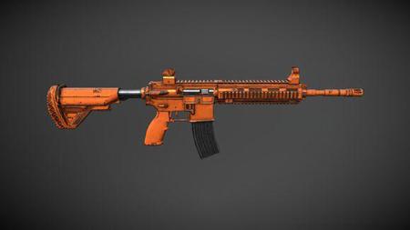 和平精英M416破铜烂铁系列皮肤