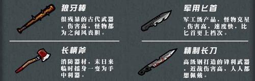 幸存者危城武器