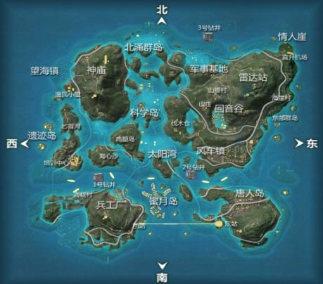 CF手游海岛地图2