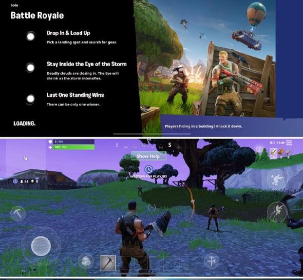 堡垒之夜手游试玩体验 画面优秀功能精简