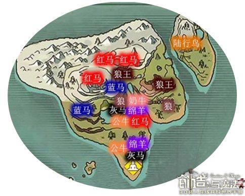 创造与魔法郁金香平原资源攻略 郁金香平原攻略大全