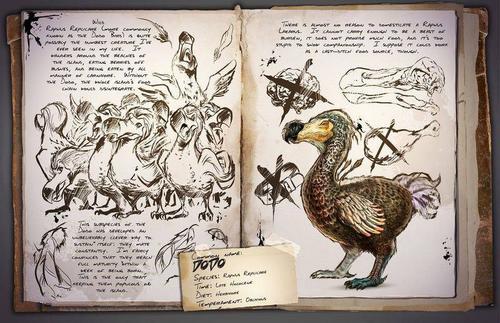 方舟生存进化渡渡鸟