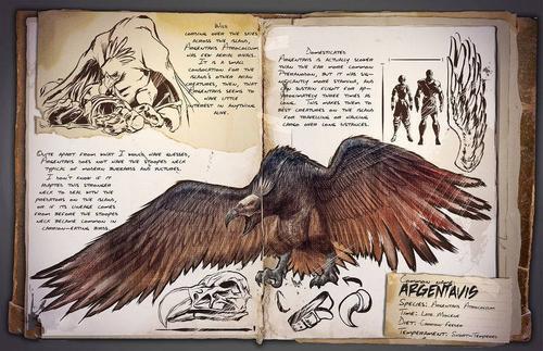 方舟生存进化阿根廷巨鹰