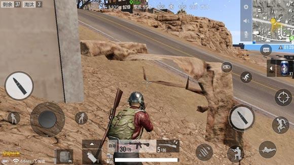 绝地求生全军出击沙漠地图