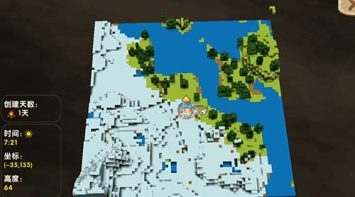 迷你世界冰原地形码 冰原商人种子