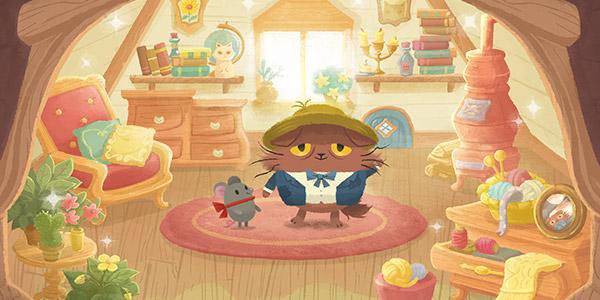 不会抓老鼠的猫咪不是一个好画家 《奇喵的画家》休闲上架