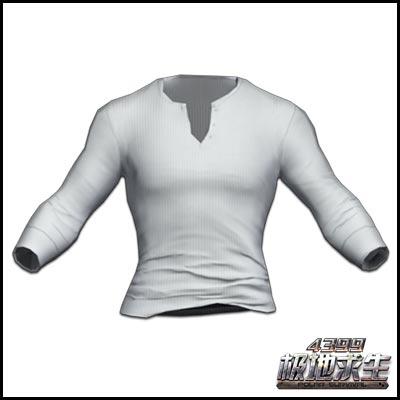 极地求生白色T恤(男)展示 白色T恤(男)获得方式