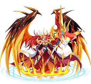 奥奇传说力量王者龙炎
