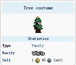 泰拉瑞亚圣诞树套装