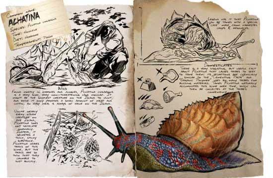 方舟生存进化玛瑙螺