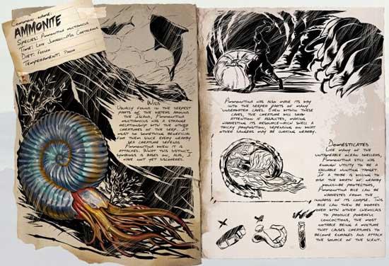 方舟生存进化菊石