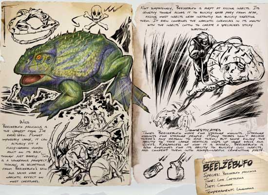 方舟生存进化魔鬼蛙