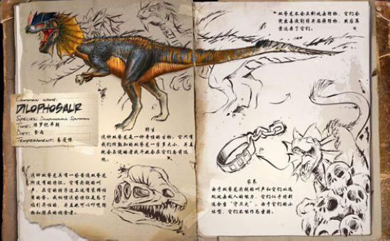 方舟生存进化双棘龙
