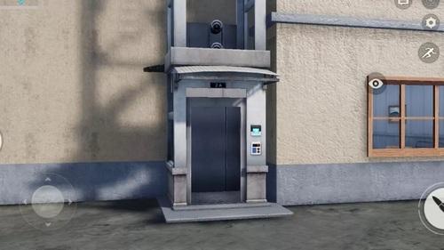 荒野行动电梯