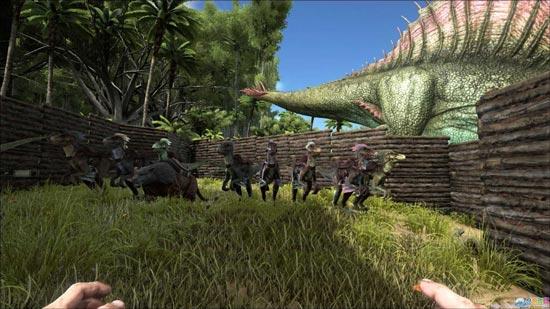 方舟生存进化围墙