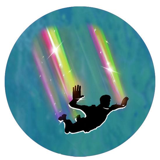堡垒之夜手游下降轨迹彩虹怎么得 Rainbow下降轨迹介绍