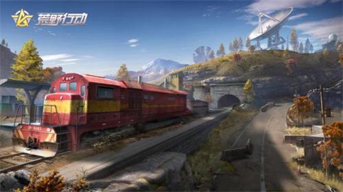 荒野行动新版本4月19日开启水下战斗、火车、电梯、水管攀爬模式