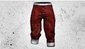 枪神传说红色七分裤