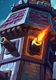 炉石传说黑嚎炮塔
