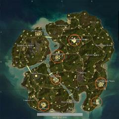 絕地求生新地圖大物資點