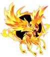 奥拉星浴火重生烈焰凤凰