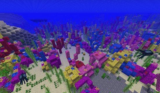 我的世界珊瑚