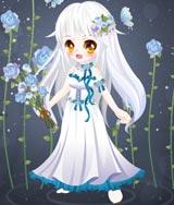 奥比岛荆棘玫瑰花仙装