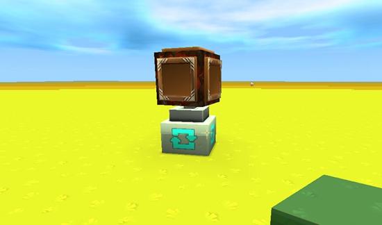 迷你世界防熊孩子隐藏箱子 转轴方块版保险箱