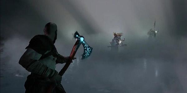 帅到哭!粉丝制作《战神》新作奎爷战斧 武器上的星星还会发光
