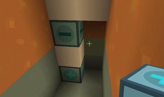 迷你世界自动下滑门怎么做 自动升降门教程