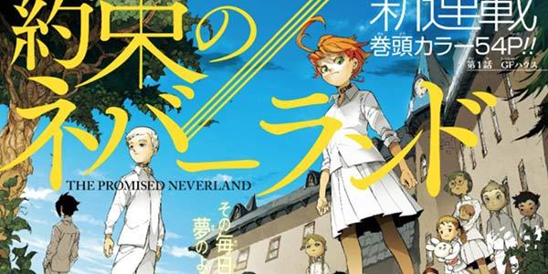 集英社漫画《约定梦幻岛》动画在即!又一霸权番将至!
