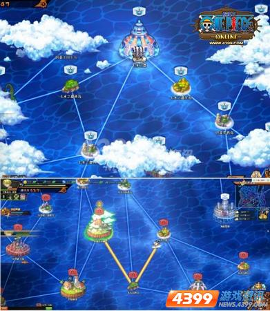 伟大航路 四三九九航海王OL 夺岛行动开始