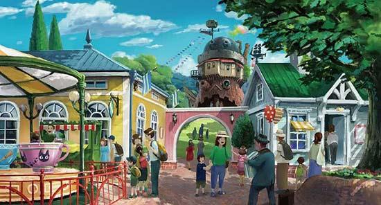 吉卜力主题公园预计2022年开业 打造《龙猫》等经典场景