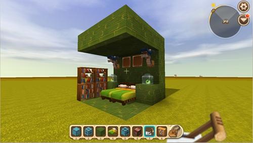 迷你世界滑动生存小屋怎么做 滑动生存小屋教程