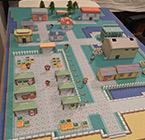 看!是丰缘的大海 牛人自制宝可梦城市纸模还原度惊人