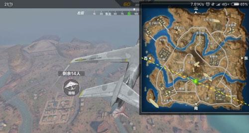 CF手游沙漠地图技巧2