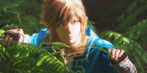 日本少年Cos《塞尔达传说:荒野之息》林克 是本人了没错了!
