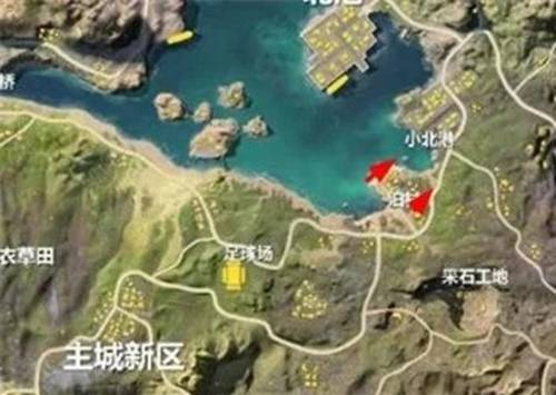 荒野行动泊村地图解析 泊村资源点物资介绍_4399荒野行动
