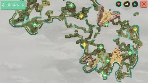 创造与魔法超大陆水晶矿&黑曜石矿资源分布