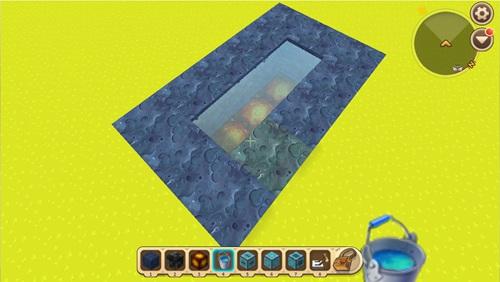 迷你世界水帘洞滑动门怎么做 水帘洞滑动门教程