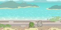 旅行青蛙中国之旅观海