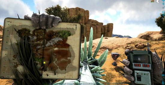 方舟生存进化沙漠宝箱