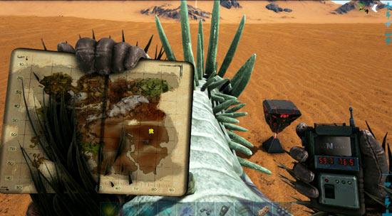 方舟生存进化沙漠宝箱位置