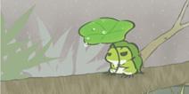旅行青蛙中国之旅下雨