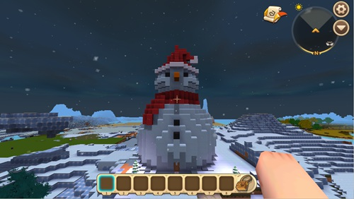 迷你世界创造存档:MT·圣诞夜 好玩存档分享