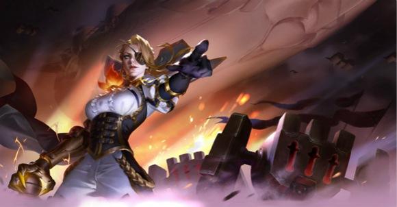 """《王者荣耀》新推出的英雄米莱狄,是一名中远距离、伤害压制型的群体攻击法师。在战场上,她依靠知识将诅咒转换为能量作战,一整支机器军团都是她的强力武器。 值得一提的是,无论是英雄形象还是作战方式,都显现出米莱狄狂傲的性格,与之相反,跟在她身侧的小机器人则温和可爱,常常能戳中你的萌点。 米莱狄的作战技能包括:机械仆从、空中支援、强制入侵、浩劫磁场。 其中,她的一技能依靠召唤机械仆从发起攻击,二技能""""空中支援""""作为主要消耗技能,可通过预判飞行路径、分裂飞机造成大量伤害,并限制敌方移动能力"""