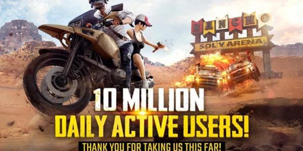 《绝地求生:刺激战场》在国外已经火成这样了? 海外版日活跃玩家已破千万