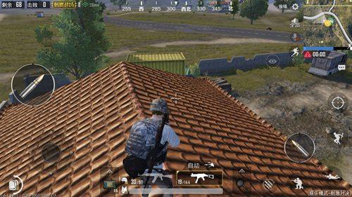 和平精英怎么上屋顶